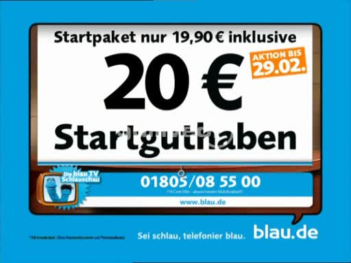 Advertising German TV (25731)